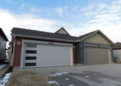 Duplex Garage Modern/Heritage Design Garage