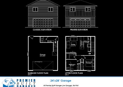 24x28 Garage Suite