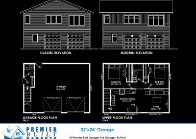 32x24 Garage Suite
